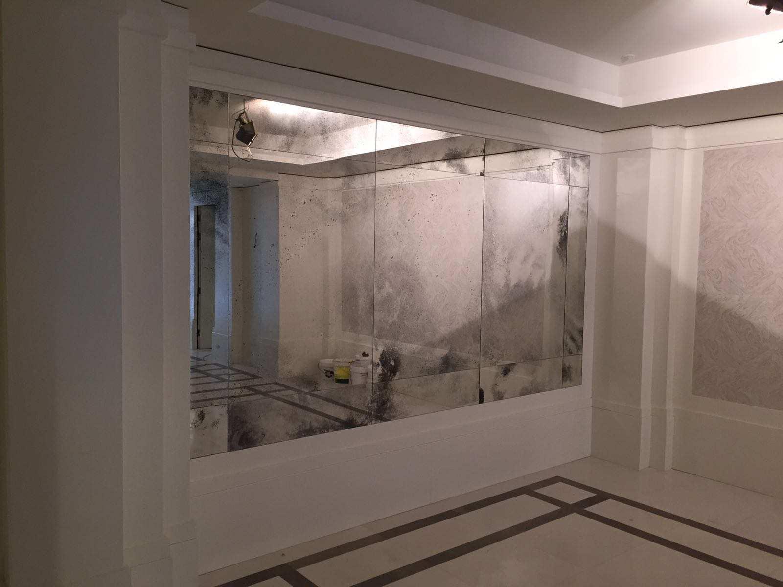 Vidrio design madrid todo en vidrio de dise o for Espejo envejecido